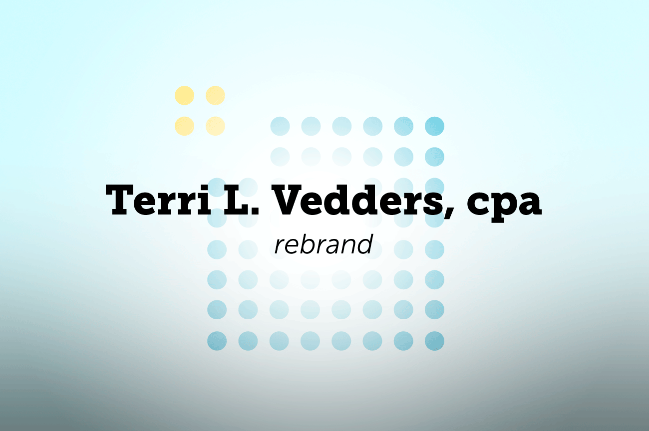 Terri Vedders, cpa - Rebrand